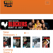 Rent One Movie Get One Free @Video Ezy Deal Image