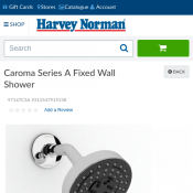 Caroma Series A Fixed Wall Shower $19 (Save $70) Deal Image