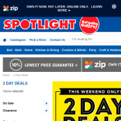 2 Day Deals at Spotlight Deal Image
