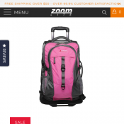 Sherpa Wheeled Backpack With Zipoff Day Pack $150 Deal Image