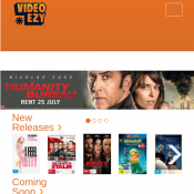 Rent 1 Movie Get 1 Free with code @Video Ezy Deal Image