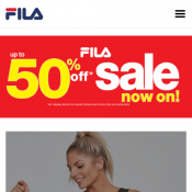 End of Season Clearance: Up to 70% Off Sale Items @FILA Deal Image