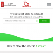 Get Up to 5% OFF On Your Online Order @ OzFoodHunter