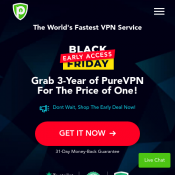 PureVPN - Early Black Friday Deal Deal Image