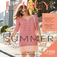 Ezibuy Best of Summer Catalogue 29 November - 24 January