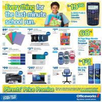 Officeworks - Everything for the Last Minute School Run