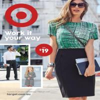 Target Work It Your Way Catalogue 26 January - 1 February