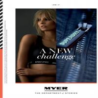 Myer A New Challenge Sports Products Catalogue 14 February - 26 February