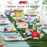 Kmart Catalogue Easter 22 - 31 March 2018
