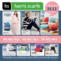 Harris Scarfe Mother's Day 2 - 8 May 2018