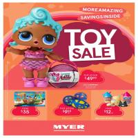 Myer Catalogue Toy Sale Jun 2018