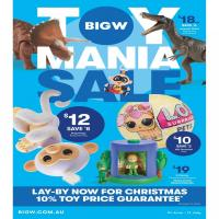 Big W Catalogue Toy Mania Sale June 2018