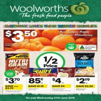 Woolworths Catalogue 27 Jun - 3 Jul 2018