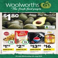 Woolworths Catalogue 4 - 10 July 2018